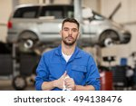 car service  repair ... | Shutterstock . vector #494138476