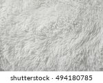 a full page of fluffy white... | Shutterstock . vector #494180785