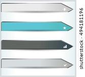 vector illustration of modern... | Shutterstock .eps vector #494181196