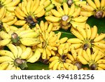 "Small photo of Pisang Mas ""Kluai Khai"" (Musa acuminate)"