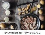 ingredients for tartiflette on...