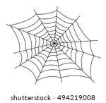 Spider Web Illustration