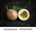 Organic Passion Fruit.
