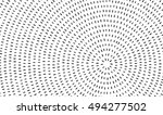 radial black concentric... | Shutterstock .eps vector #494277502