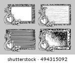 decorative vector frames in... | Shutterstock .eps vector #494315092