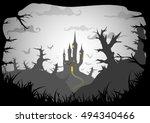 Halloween Black And White...