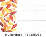 bright and pretty fall display... | Shutterstock . vector #494355088