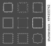 vector frames | Shutterstock .eps vector #494355742