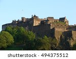 edinburgh castle | Shutterstock . vector #494375512