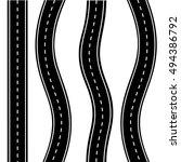 road icon vector   Shutterstock .eps vector #494386792