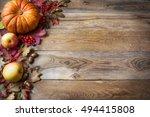 Thanksgiving Or Fall Greeting...
