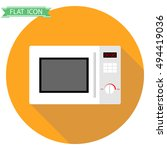 microwave icon  microwave... | Shutterstock .eps vector #494419036