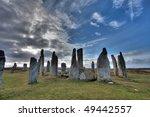 callanish standing stone circle ... | Shutterstock . vector #49442557