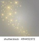 glow light effect. vector...   Shutterstock .eps vector #494452372
