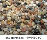 pea sized river gravel flooded... | Shutterstock . vector #49449760