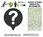 help balloon icon with 1000... | Shutterstock .eps vector #494555212