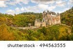 view of the burg eltz castle | Shutterstock . vector #494563555