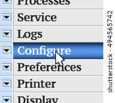 configure. my own design of...
