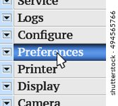 preferences. my own design of...