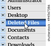 deleted files. my own design of ...