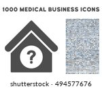 status building icon with 1000... | Shutterstock .eps vector #494577676