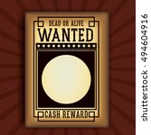 Retro And Vintage Wanted Poste...