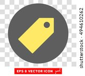 tag round icon. vector eps... | Shutterstock .eps vector #494610262