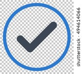 ok vector icon. image style is...