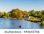 Serpentine Lake In Hyde Park ...