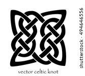 vector celtic knot | Shutterstock .eps vector #494646556