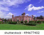 lalbagh fort the monuments of... | Shutterstock . vector #494677402