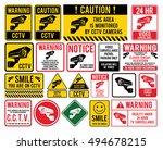 "Video Surveillance Signs. Cctv ""..."