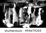 abstract picture painted black...   Shutterstock . vector #494679205