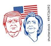 october  7 2016  illustration... | Shutterstock .eps vector #494726392