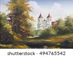Autumn Landscape With Old...