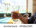 people  drinks  alcohol and...   Shutterstock . vector #494862385