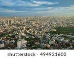 topview building city in...   Shutterstock . vector #494921602