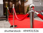 red carpet    is traditionally... | Shutterstock . vector #494931526