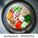 Vegetable Crudites And Dips ...