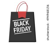 black friday badge with text