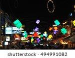 siem reap  cambodia   august... | Shutterstock . vector #494991082