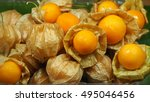 Fresh Cape Gooseberry Fruit Or...