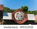 barcelona  spain   september 26 ... | Shutterstock . vector #495121435