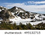 landscape in the pyrenees ... | Shutterstock . vector #495132715