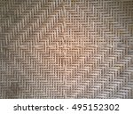 woven bamboo texture and... | Shutterstock . vector #495152302