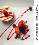 cheesecake | Shutterstock . vector #495211942