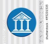 bank building.   Shutterstock .eps vector #495231535
