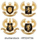 coat of arms. vector... | Shutterstock .eps vector #49524736