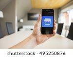 lendelede belgium october 8th... | Shutterstock . vector #495250876