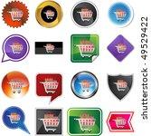 shopping cart | Shutterstock . vector #49529422